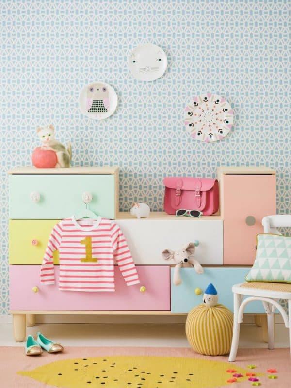 Ikea Kids Pastel Dresser Hack