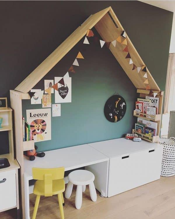 Ikea Kids Play Desk Hack
