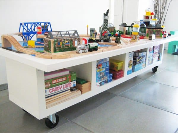 Ikea Kids Train Set Table Hack