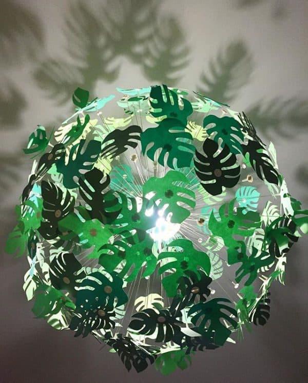 Ikea Kids Tropical Light Hack