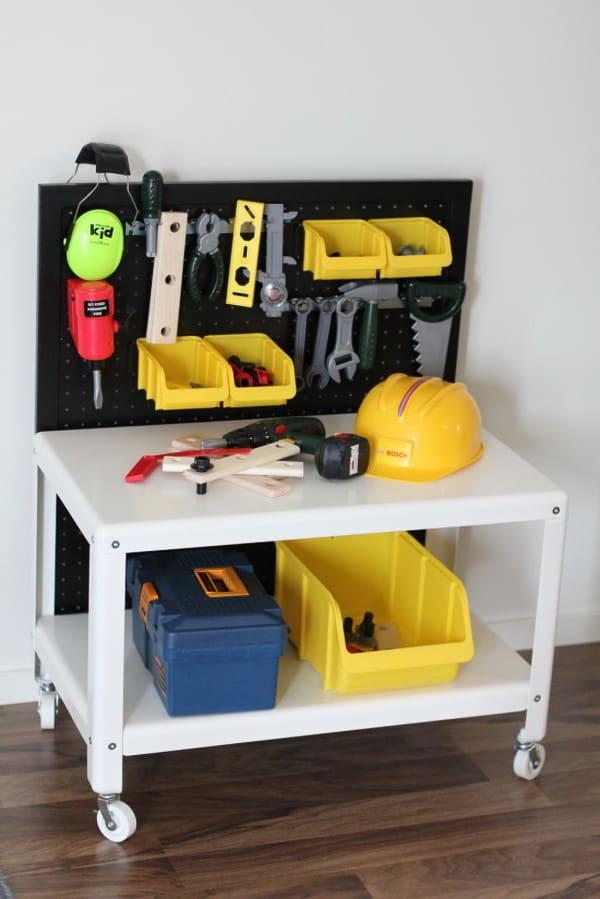 Ikea Kids Workbench Hack
