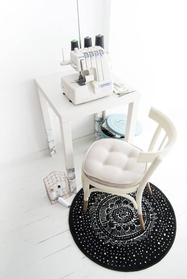 Ikea LACK Small Work Desk Hack