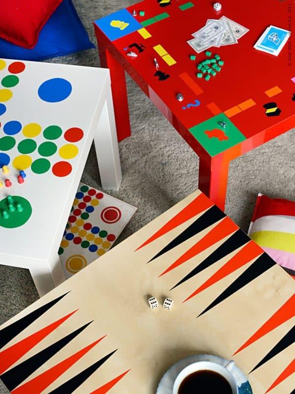 Ikea Lack Games Tables Hack