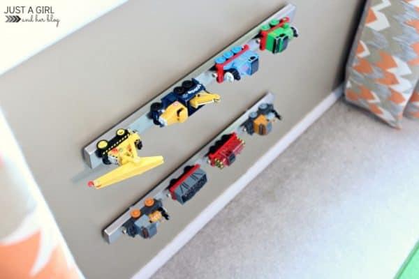Ikea Magnetic Train Rack Hack