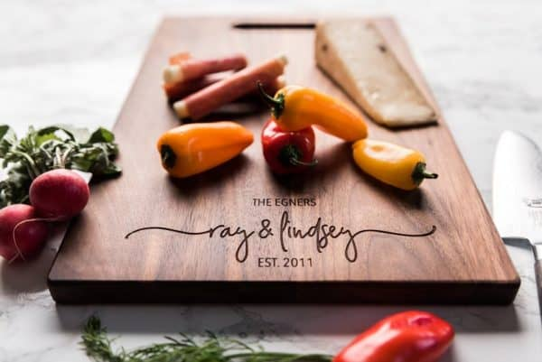 Custom Engraved Chopping Board Kitchen Accessories