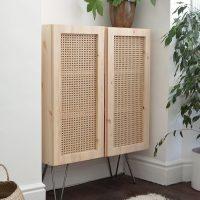 Ikea Cane Hack Ivar Cabinet