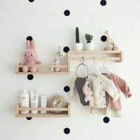 Ikea Nursery Hacks Spice Rack Shelving and Wardrobe