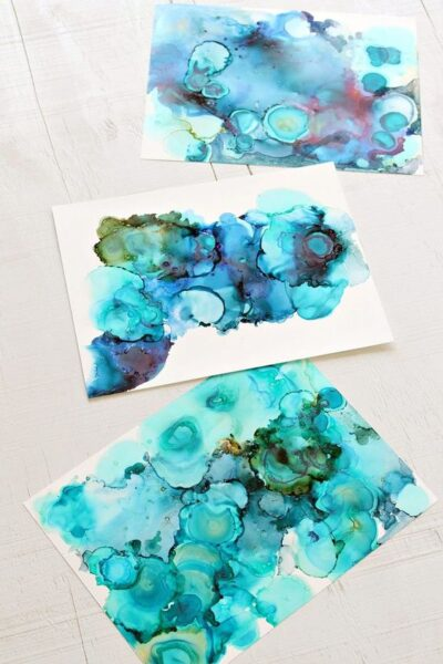 Create Your Own Artwork Alcohol Ink